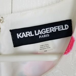 Karl Lagerfeld Dresses - Karl Lagerfeld sleeveless Floral midi dress sz 10